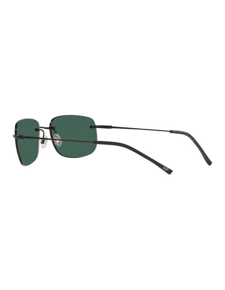 Ohai Polarised Black Rectangle Sunglasses 0MJ000670 1535856004 image 5