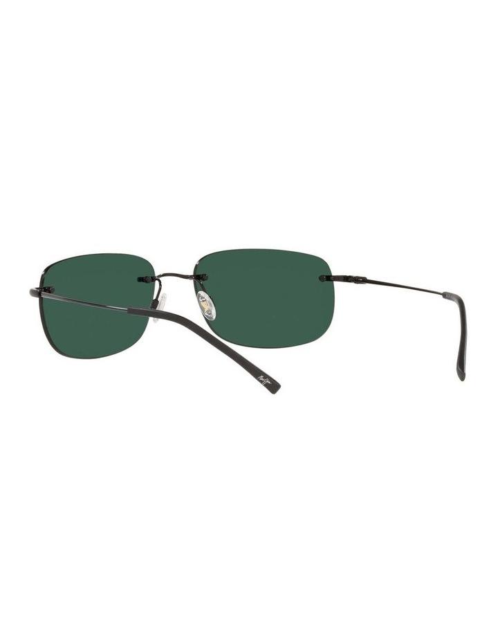Ohai Polarised Black Rectangle Sunglasses 0MJ000670 1535856004 image 6