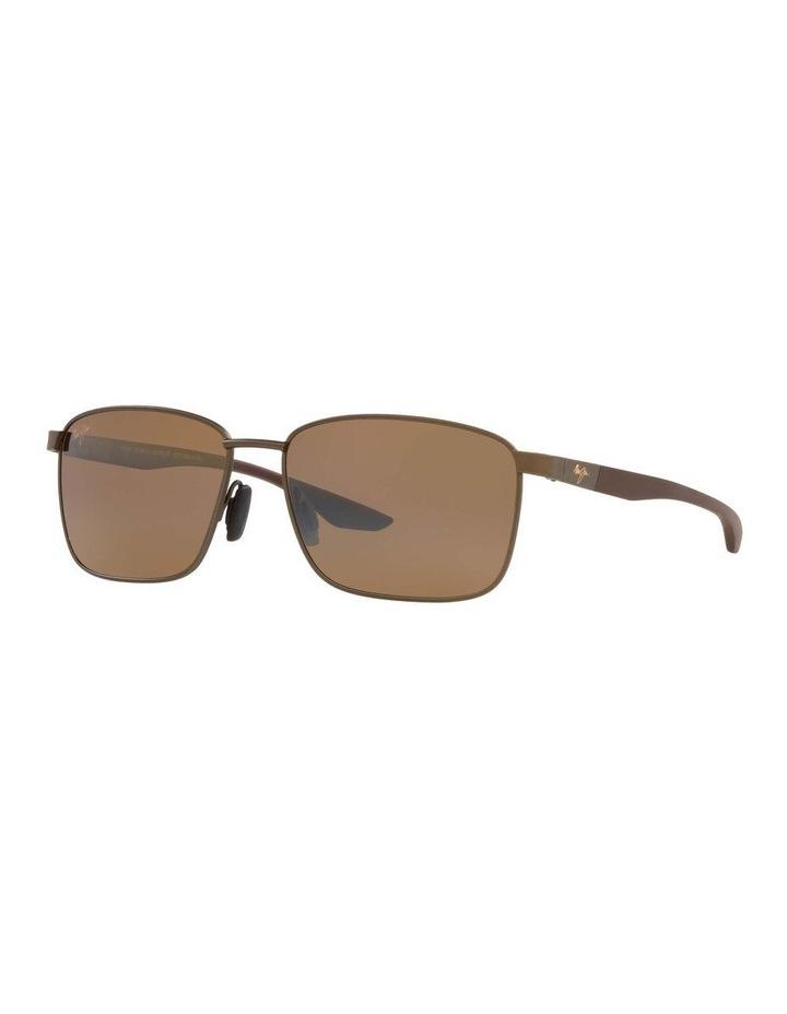 Kaala Polarised Bronze Rectangle Sunglasses 0MJ000676 1536083001 image 1