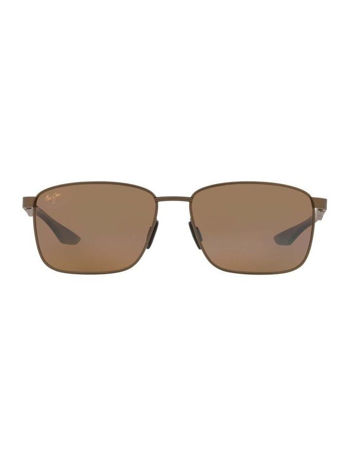Kaala Polarised Bronze Rectangle Sunglasses 0MJ000676 1536083001 image 2