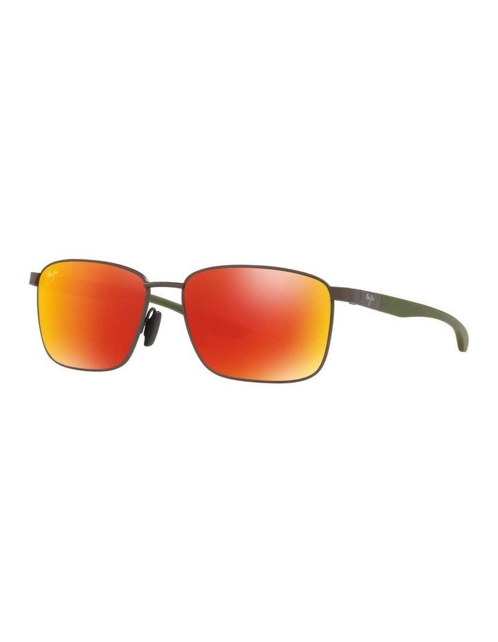 Kaala Polarised Gunmetal Rectangle Sunglasses 0MJ000676 1536083002 image 1