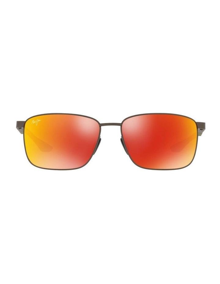 Kaala Polarised Gunmetal Rectangle Sunglasses 0MJ000676 1536083002 image 2