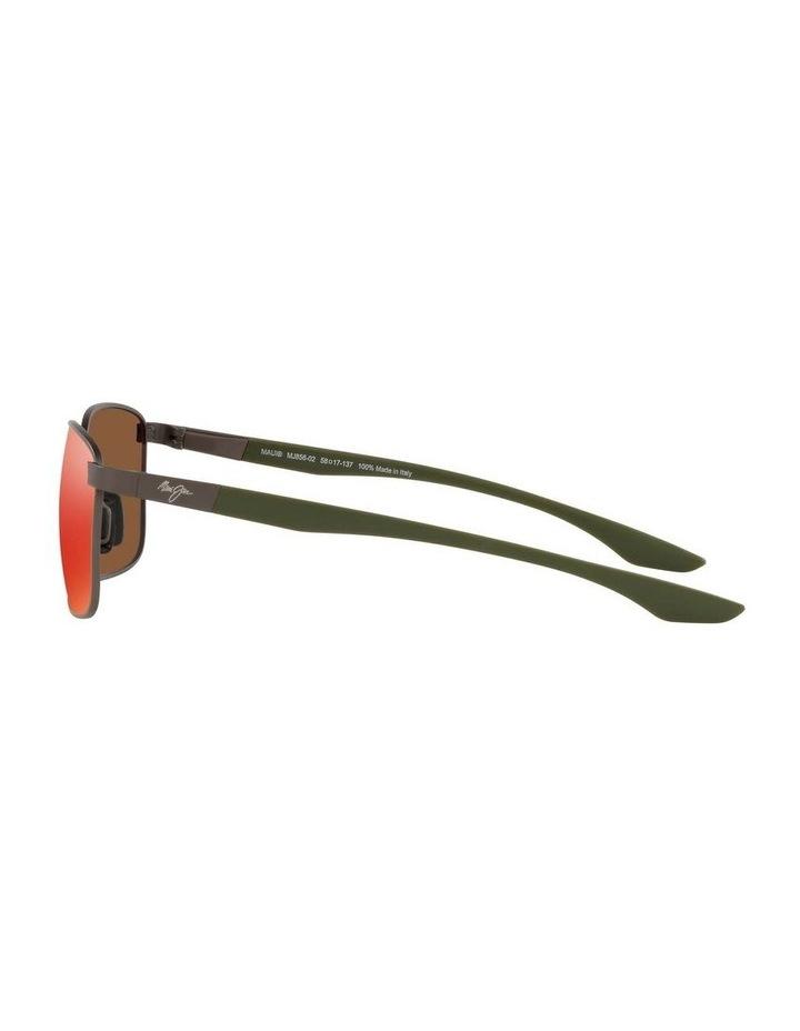 Kaala Polarised Gunmetal Rectangle Sunglasses 0MJ000676 1536083002 image 4