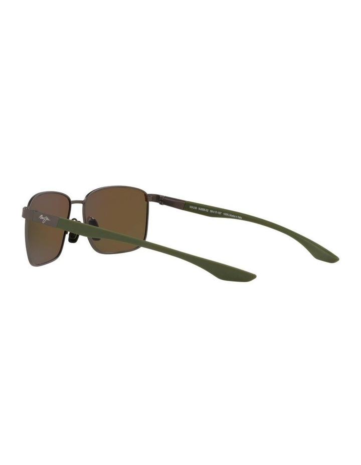 Kaala Polarised Gunmetal Rectangle Sunglasses 0MJ000676 1536083002 image 5