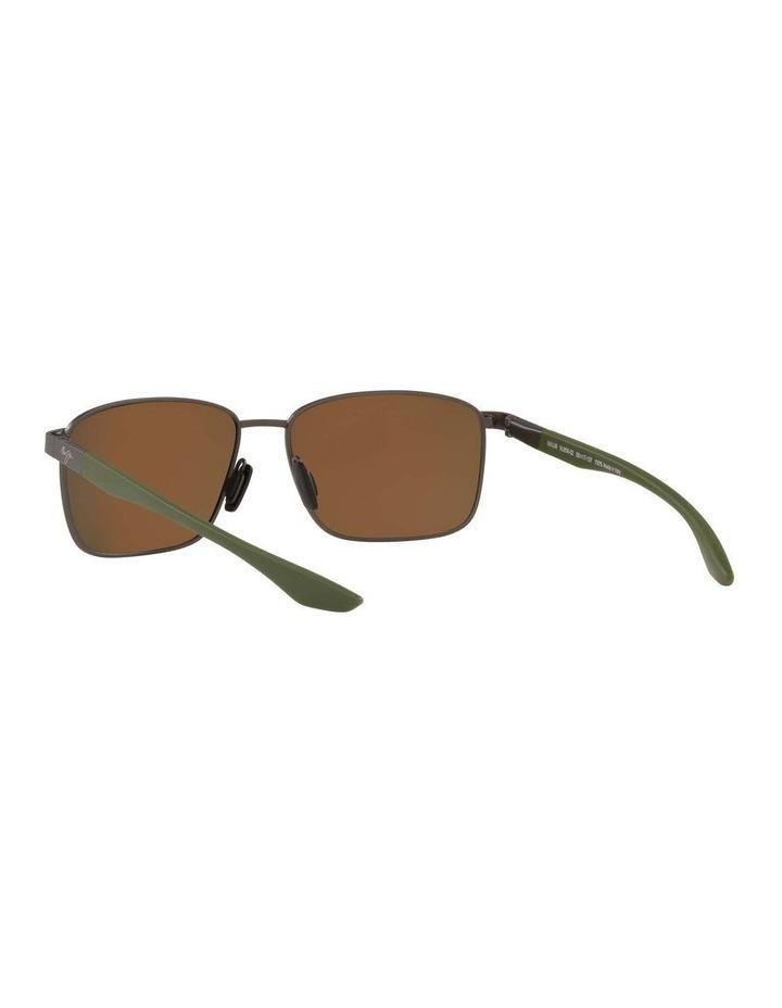 Kaala Polarised Gunmetal Rectangle Sunglasses 0MJ000676 1536083002 image 6