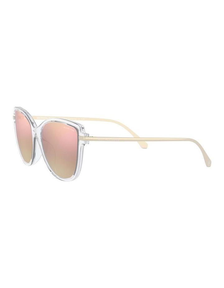 Sorrento Polarised Transparent/Pink Cat Eye Sunglasses 0MK2130U 1534827006 image 3