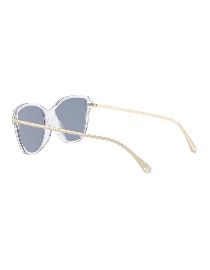 Sorrento Polarised Transparent/Pink Cat Eye Sunglasses 0MK2130U 1534827006 image 5
