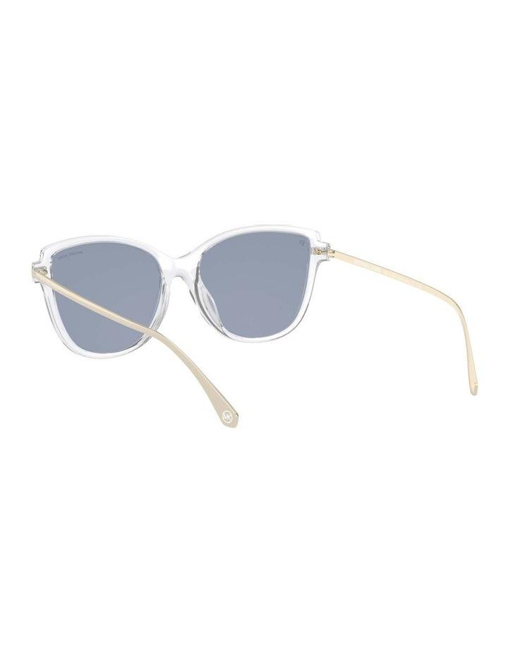 Sorrento Polarised Transparent/Pink Cat Eye Sunglasses 0MK2130U 1534827006 image 6
