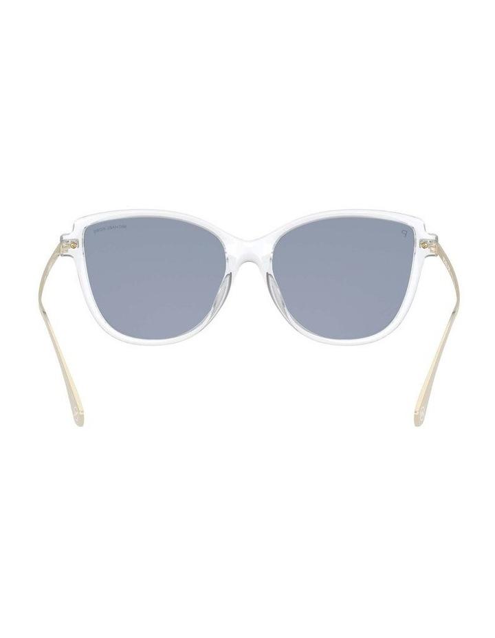 Sorrento Polarised Transparent/Pink Cat Eye Sunglasses 0MK2130U 1534827006 image 7