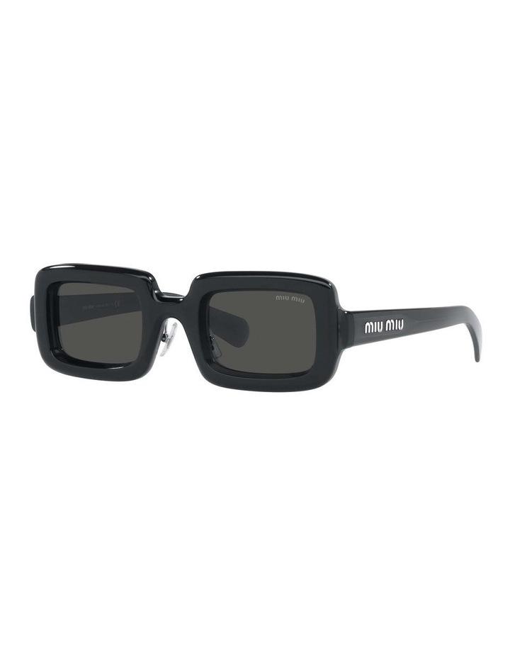 Grey Rectangle Sunglasses 0MU 09XS 1536012002 image 1