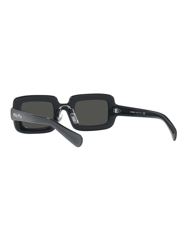 Grey Rectangle Sunglasses 0MU 09XS 1536012002 image 6
