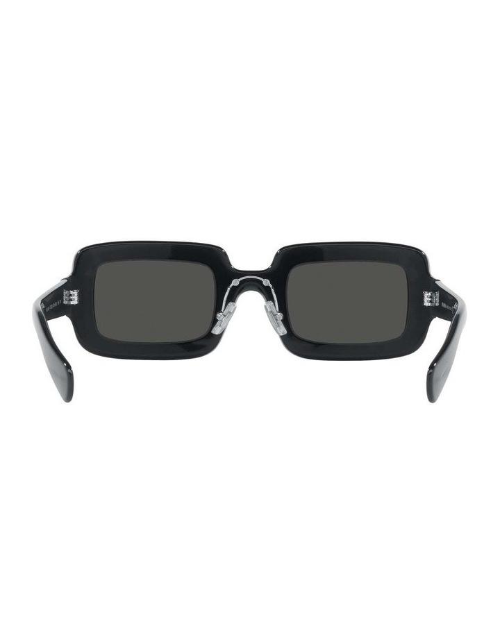 Grey Rectangle Sunglasses 0MU 09XS 1536012002 image 7