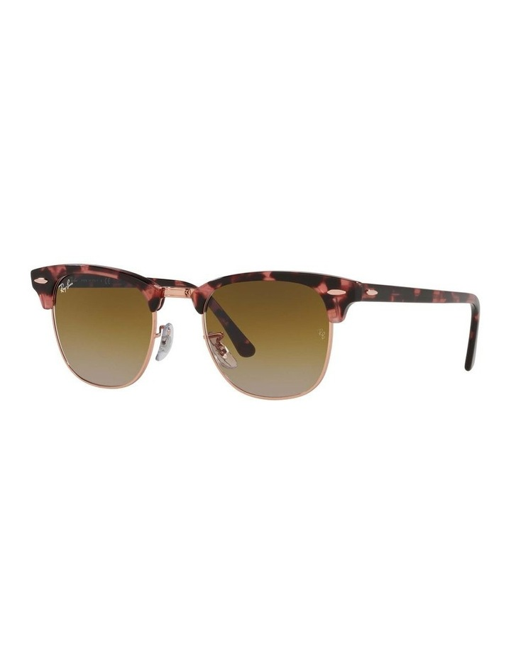 Clubmaster Fleck Pink Sunglasses 0RB3016 1130305059 image 1