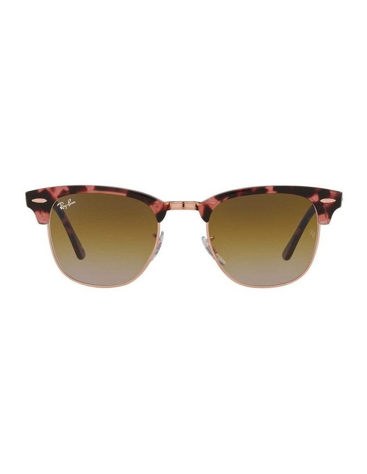 Clubmaster Fleck Pink Sunglasses 0RB3016 1130305059 image 2