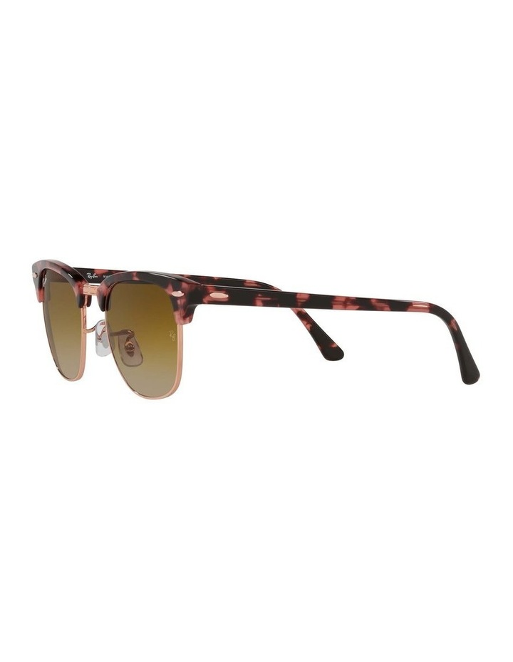 Clubmaster Fleck Pink Sunglasses 0RB3016 1130305059 image 3