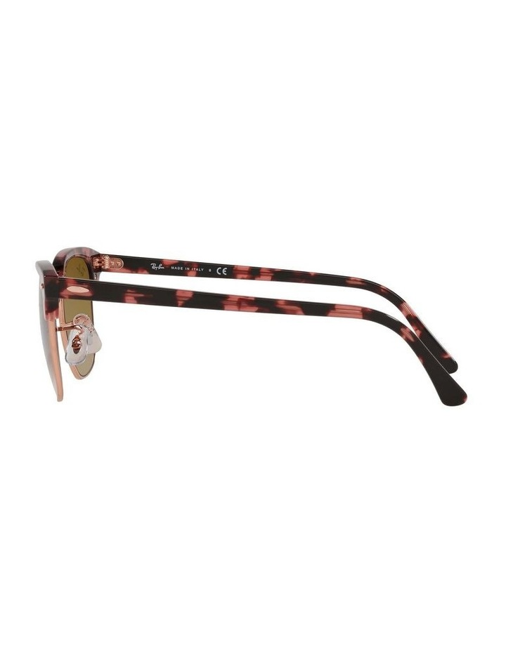 Clubmaster Fleck Pink Sunglasses 0RB3016 1130305059 image 4