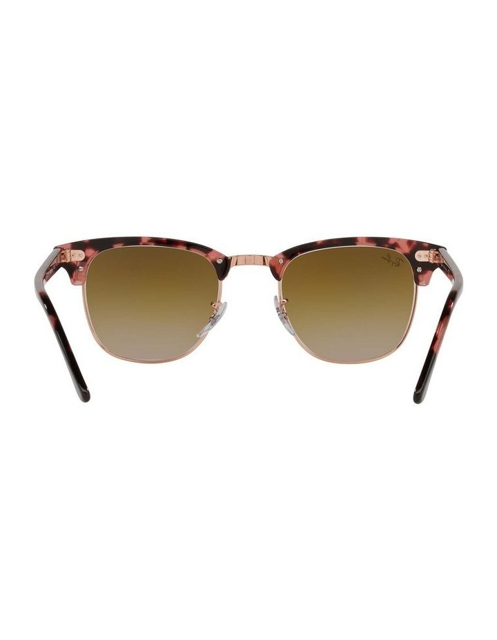 Clubmaster Fleck Pink Sunglasses 0RB3016 1130305059 image 7