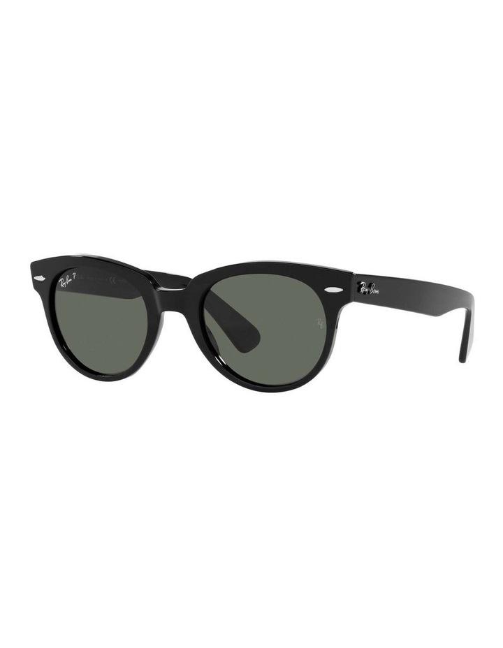 Orion Polarised Black Retro Sunglasses 0RB2199 1535818004 image 1