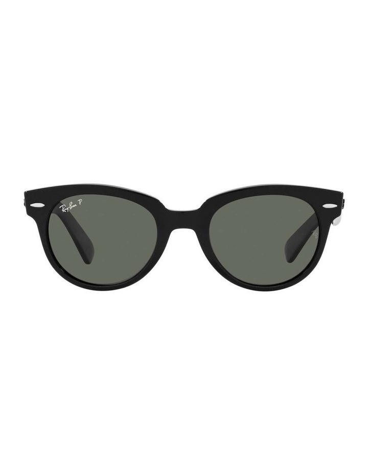 Orion Polarised Black Retro Sunglasses 0RB2199 1535818004 image 2
