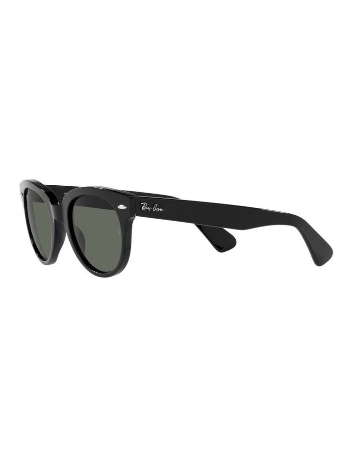 Orion Polarised Black Retro Sunglasses 0RB2199 1535818004 image 3