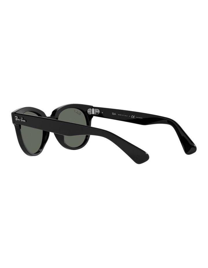 Orion Polarised Black Retro Sunglasses 0RB2199 1535818004 image 5