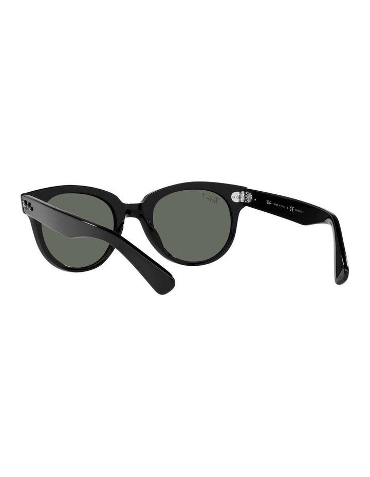 Orion Polarised Black Retro Sunglasses 0RB2199 1535818004 image 6