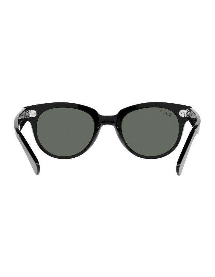 Orion Polarised Black Retro Sunglasses 0RB2199 1535818004 image 7