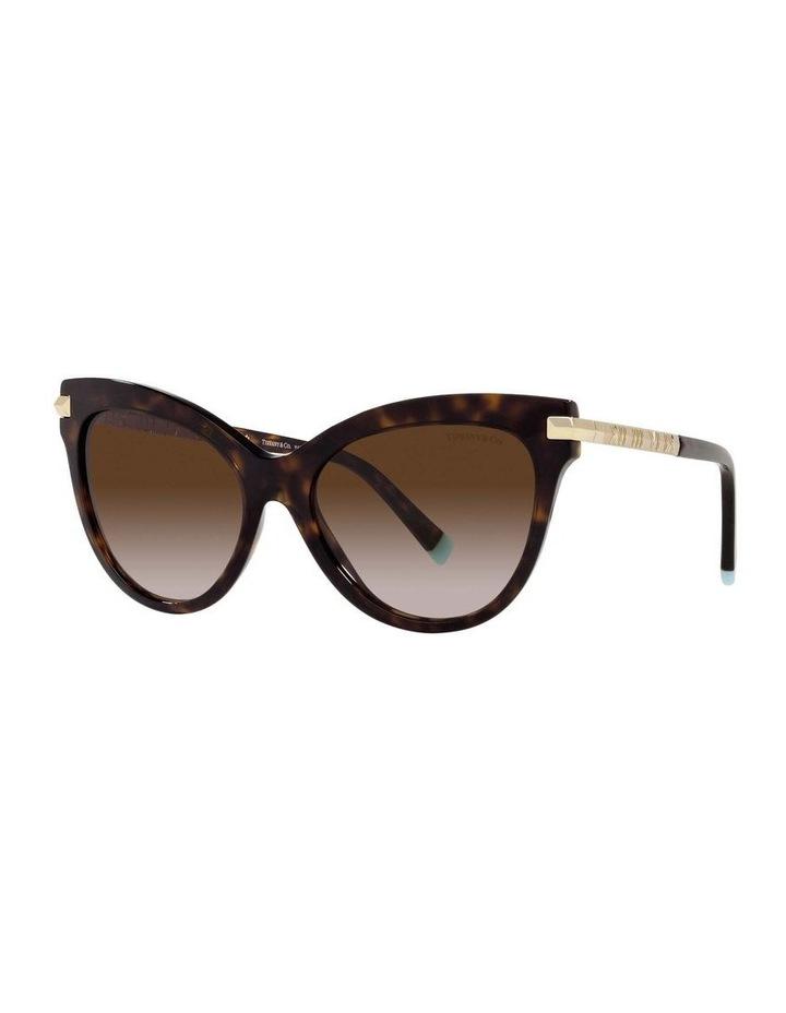 Tortoise Cat Eye Sunglasses 0TF4182 1535613004 image 1