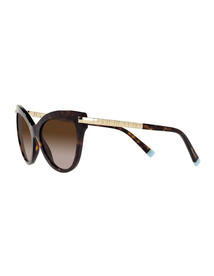 Tortoise Cat Eye Sunglasses 0TF4182 1535613004 image 3