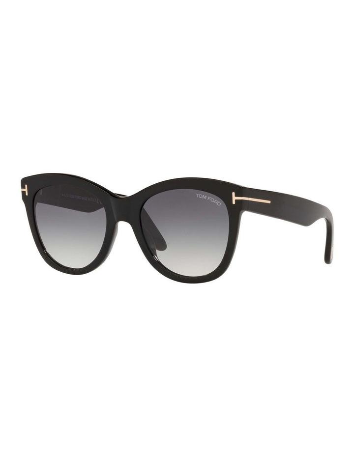 Black Cat Eye Sunglasses 0TR001310 1536035001 image 1