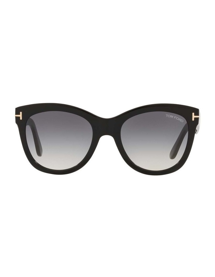 Black Cat Eye Sunglasses 0TR001310 1536035001 image 2