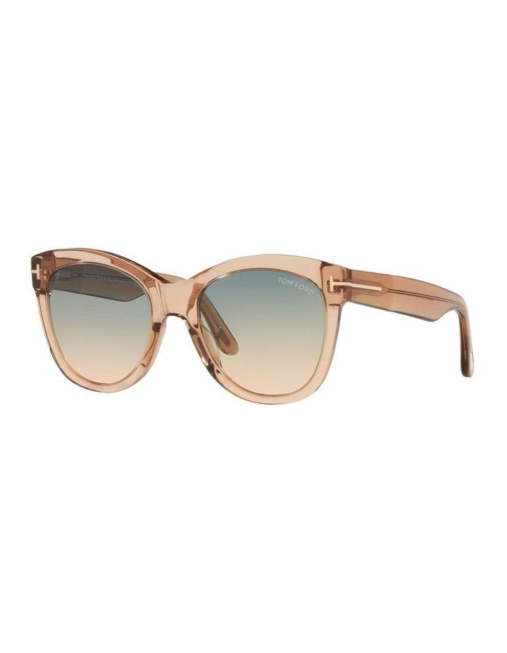 Brown Cat Eye Sunglasses 0TR001310 1536035002 image 1