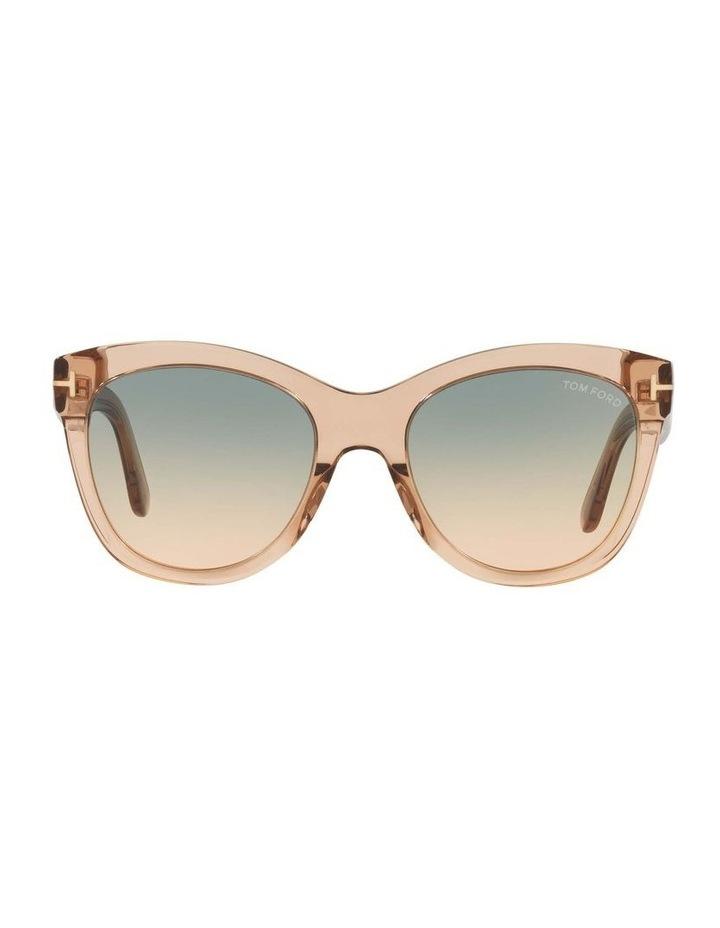 Brown Cat Eye Sunglasses 0TR001310 1536035002 image 2