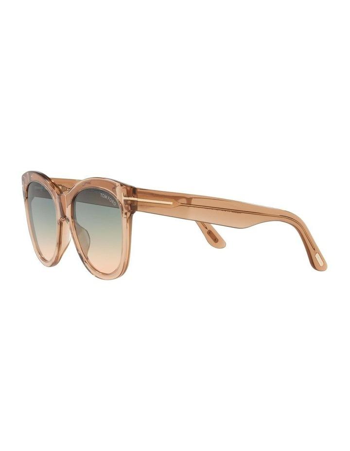 Brown Cat Eye Sunglasses 0TR001310 1536035002 image 3
