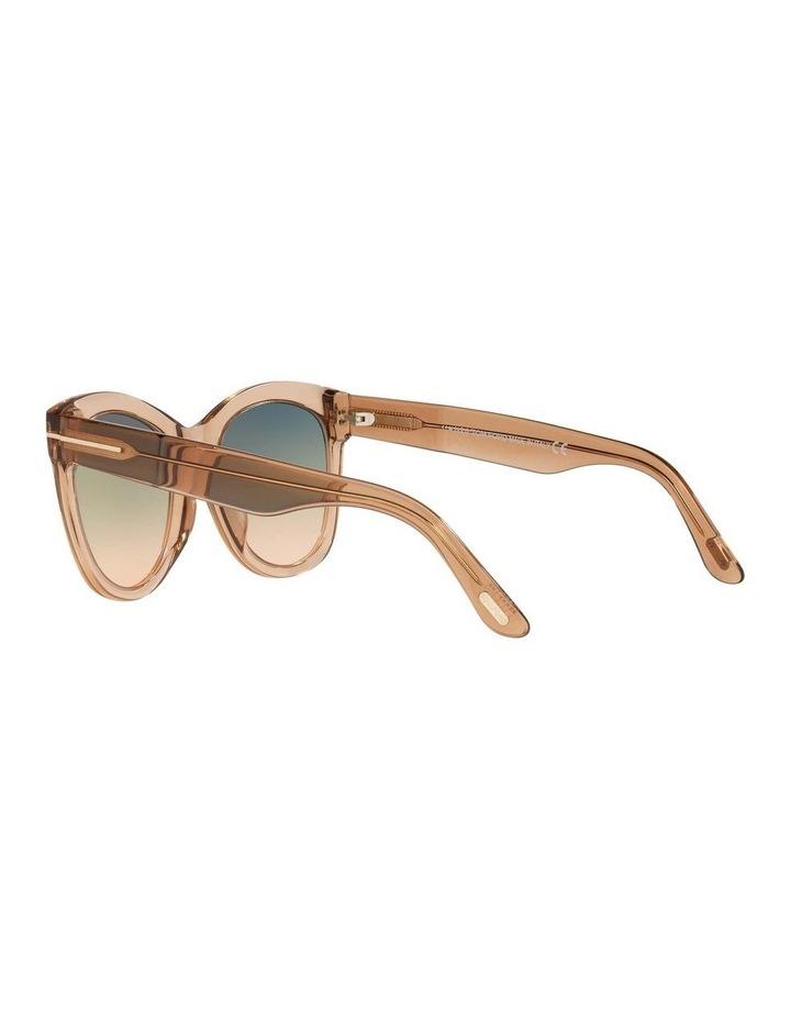 Brown Cat Eye Sunglasses 0TR001310 1536035002 image 5