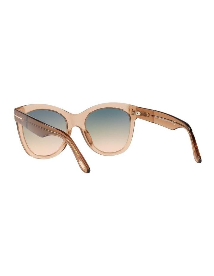 Brown Cat Eye Sunglasses 0TR001310 1536035002 image 6