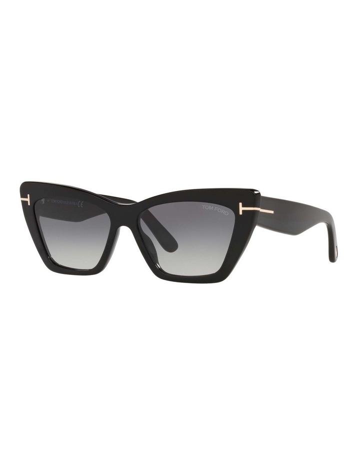Black Cat Eye Sunglasses 0TR001312 1536037001 image 1