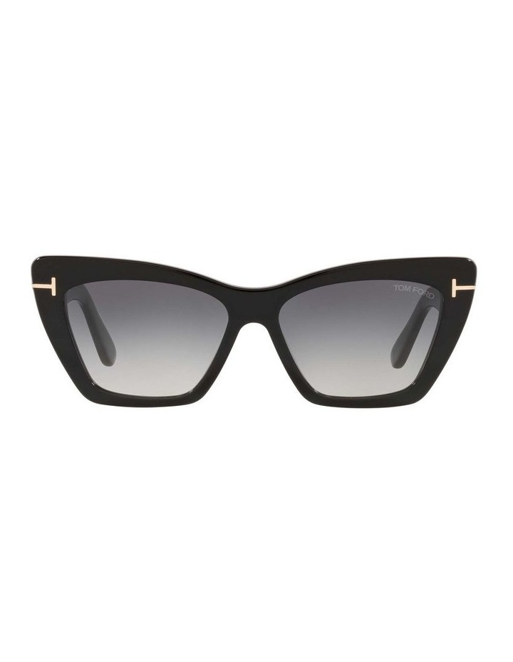 Black Cat Eye Sunglasses 0TR001312 1536037001 image 2
