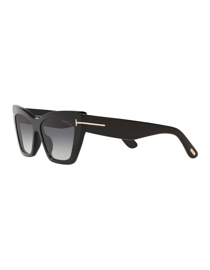 Black Cat Eye Sunglasses 0TR001312 1536037001 image 3