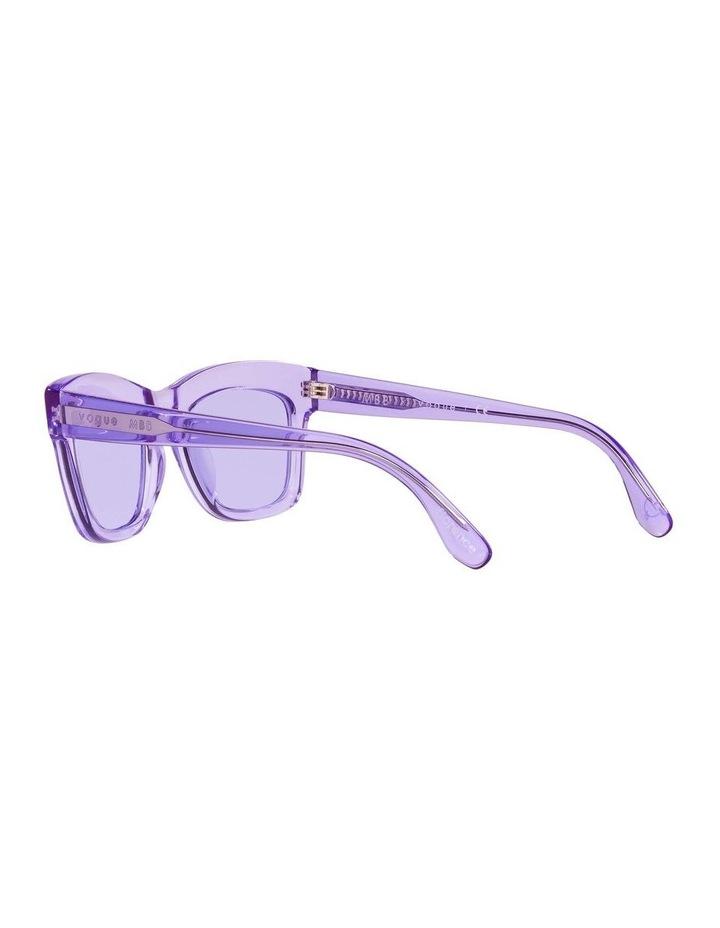 MBB X VOGUE Purple Transparent Rectangle Sunglasses 0VO5392S 1535988003 image 5