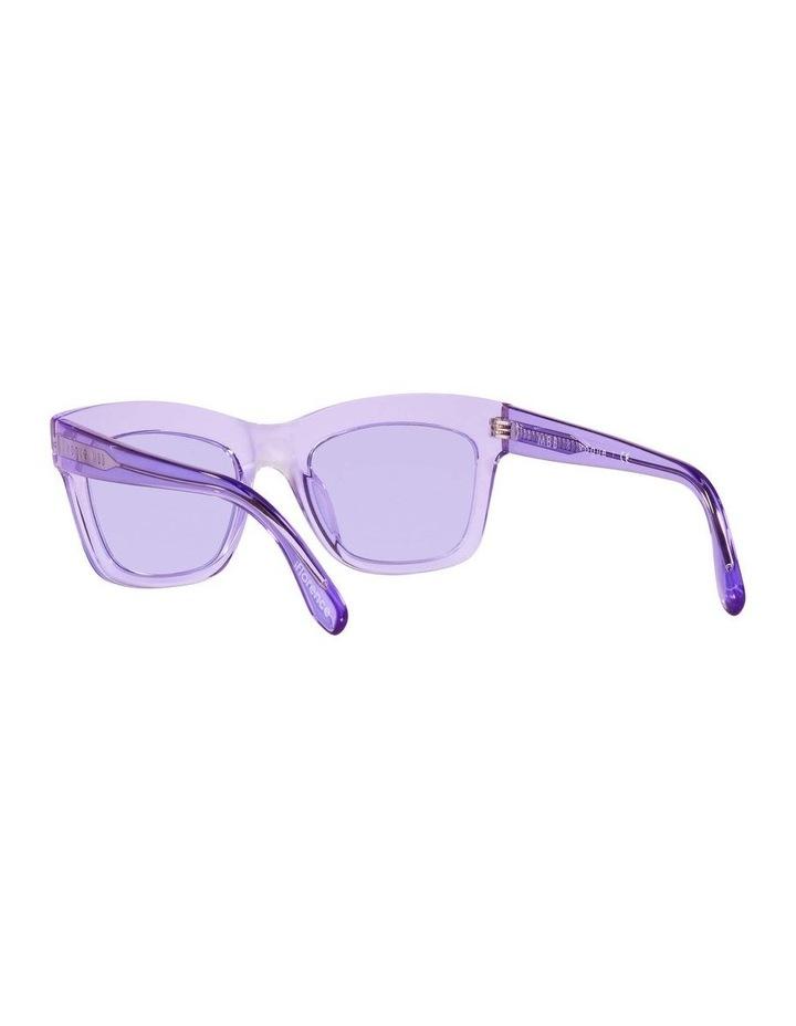 MBB X VOGUE Purple Transparent Rectangle Sunglasses 0VO5392S 1535988003 image 6