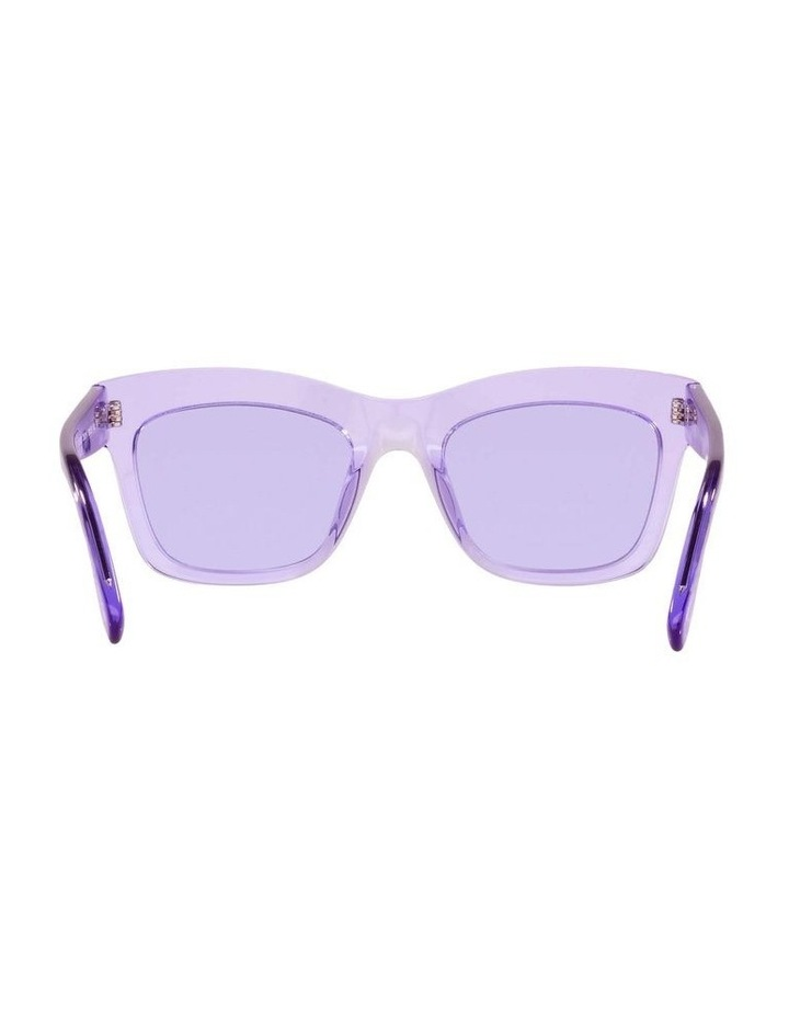 MBB X VOGUE Purple Transparent Rectangle Sunglasses 0VO5392S 1535988003 image 7