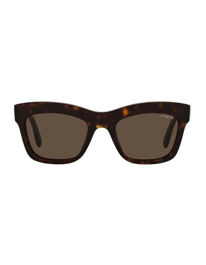 MBB X VOGUE Tortoise Rectangle Sunglasses 0VO5392S 1535988004 image 2