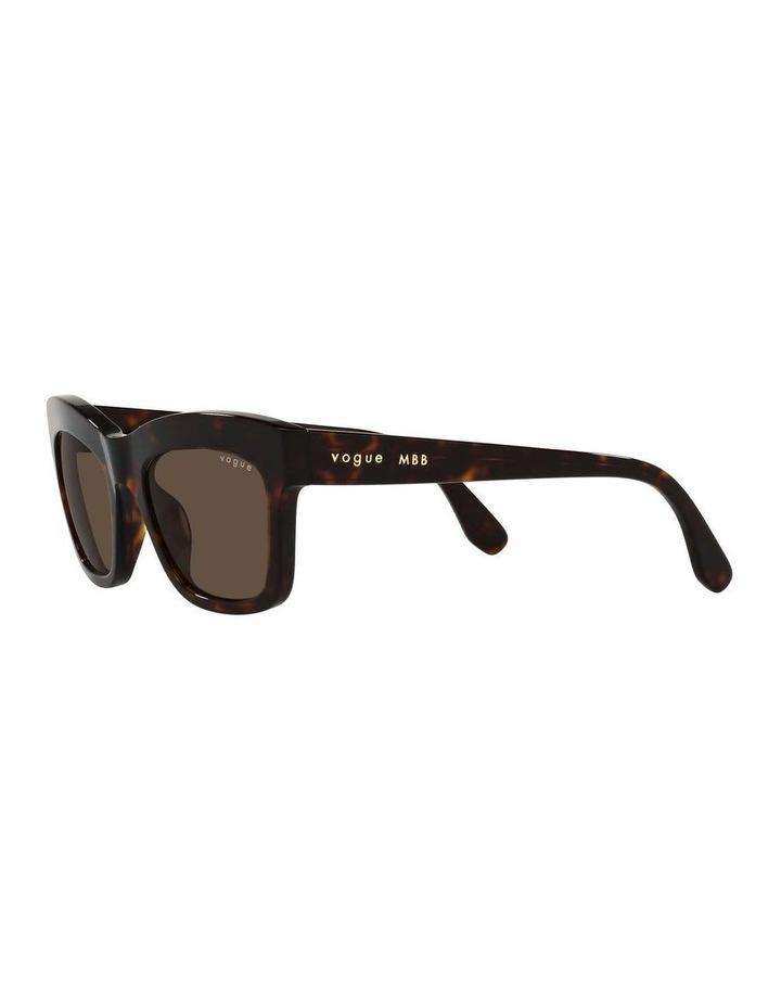MBB X VOGUE Tortoise Rectangle Sunglasses 0VO5392S 1535988004 image 3