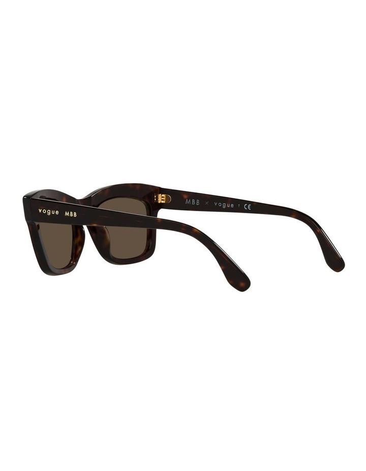 MBB X VOGUE Tortoise Rectangle Sunglasses 0VO5392S 1535988004 image 5