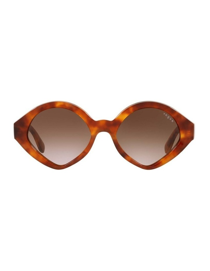MBB X VOGUE Yellow Oval Sunglasses 0VO5394S 1535991001 image 2