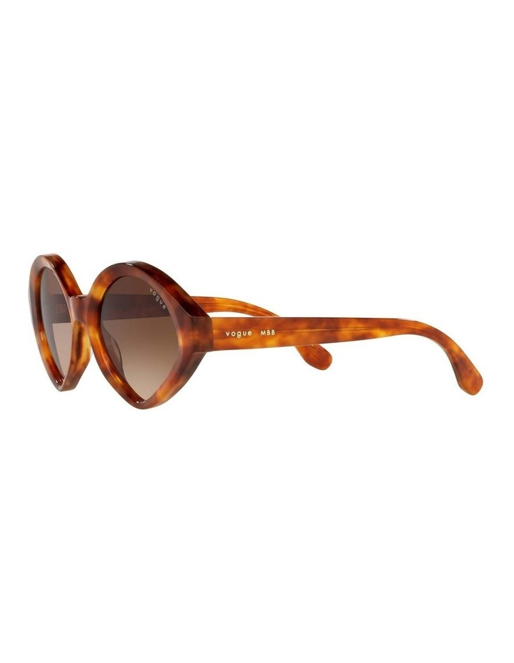 MBB X VOGUE Yellow Oval Sunglasses 0VO5394S 1535991001 image 3