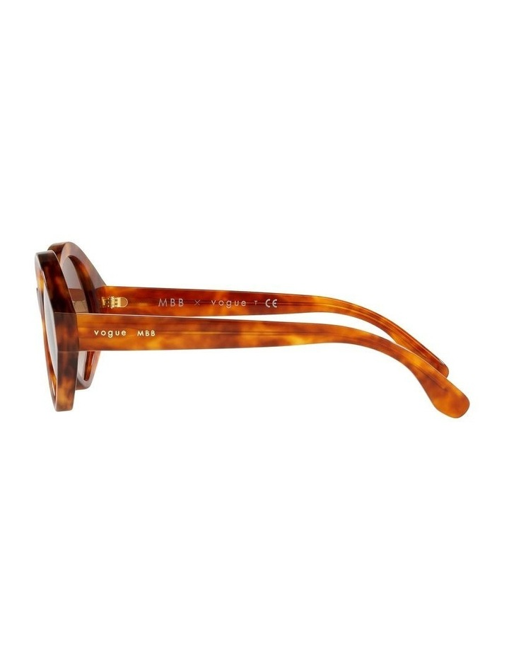 MBB X VOGUE Yellow Oval Sunglasses 0VO5394S 1535991001 image 4