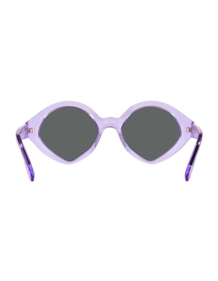 MBB X VOGUE Purple Transparent Oval Sunglasses 0VO5394S 1535991002 image 7