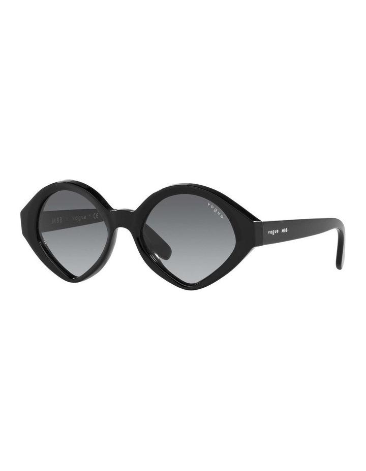 MBB X VOGUE Black Oval Sunglasses 0VO5394S 1535991003 image 1